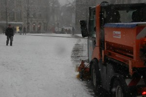 Der gesamte Münsterplatz war zugeschneit (Symbolfoto)