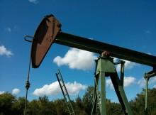 Eine Ölförderpumpe